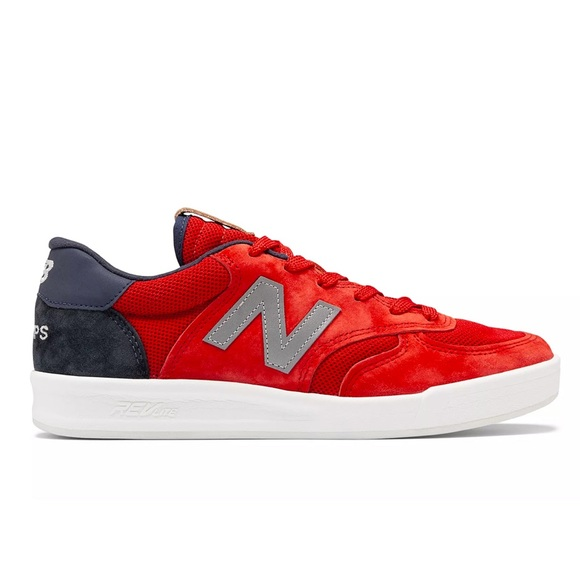 aborto fuga Blanco  New Balance Shoes | C300 Red And Blue Suade Champ | Poshmark